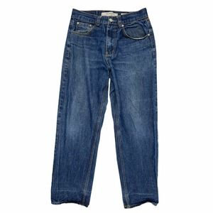 PJ Mark Denim Jeans Relaxed Fit Straight Jeans 34